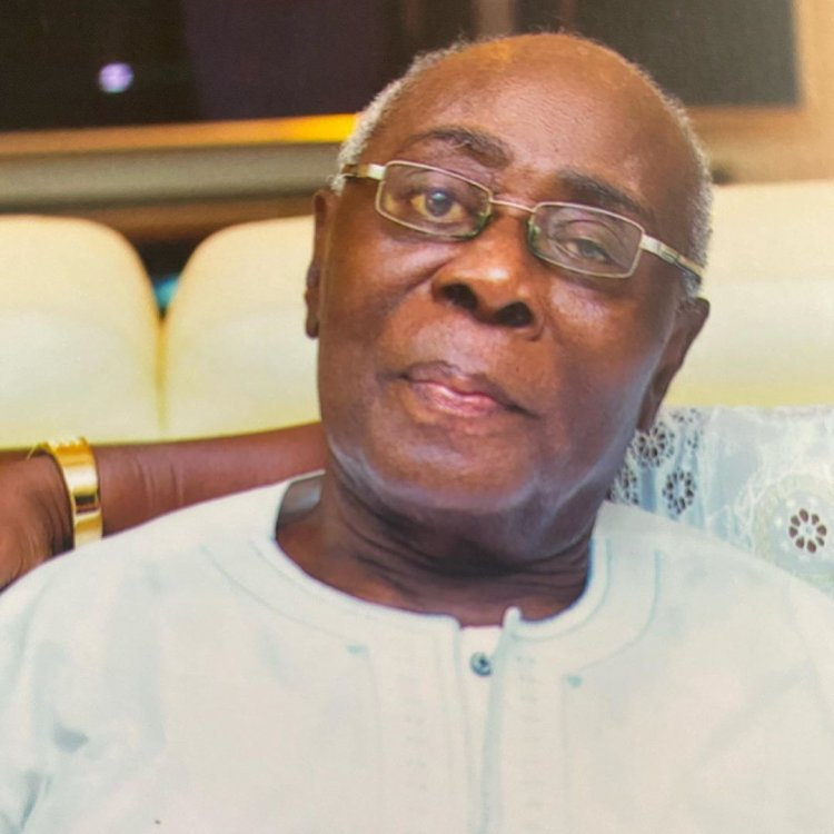 Sika Osei's father is dead