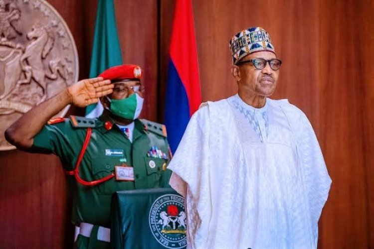 'I Won't Allow A Repeat Of #EndSARS Protest' – President Buhari