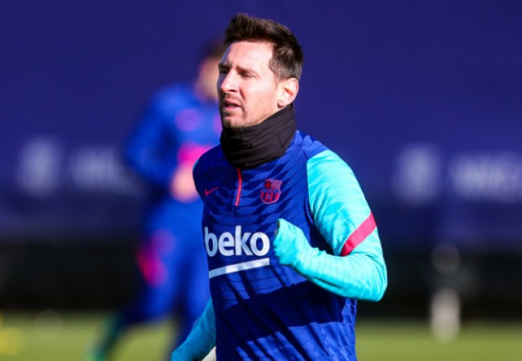Messi starts training after injury recovery