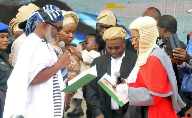 Ondo Election: Governor Akeredolu Sworn In For Second Term