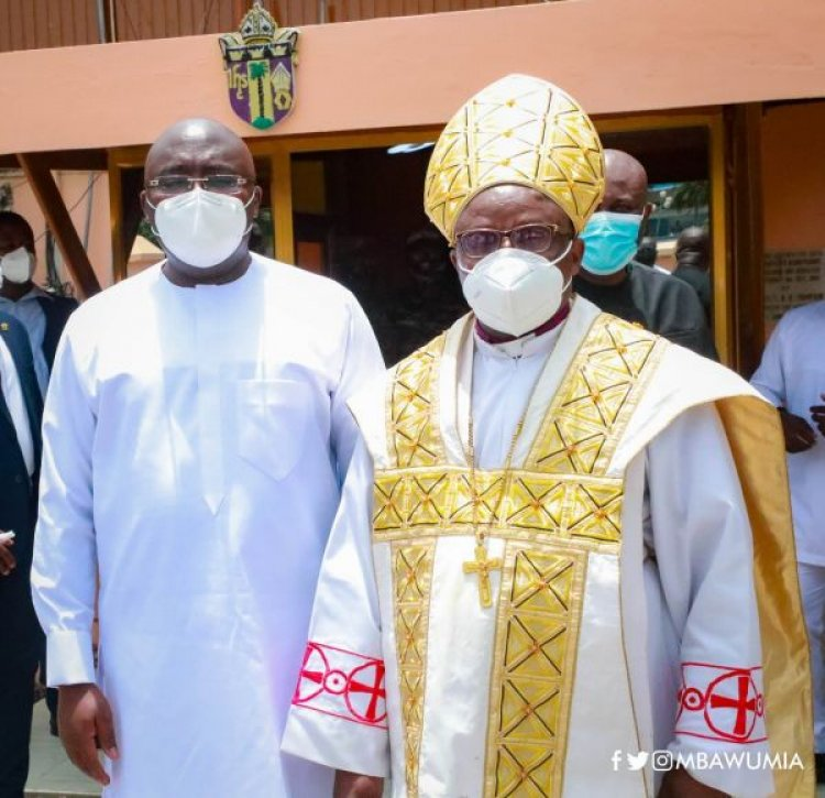 You're the leader Ghana needs – Anglican Bishop throws Support to Bawumia