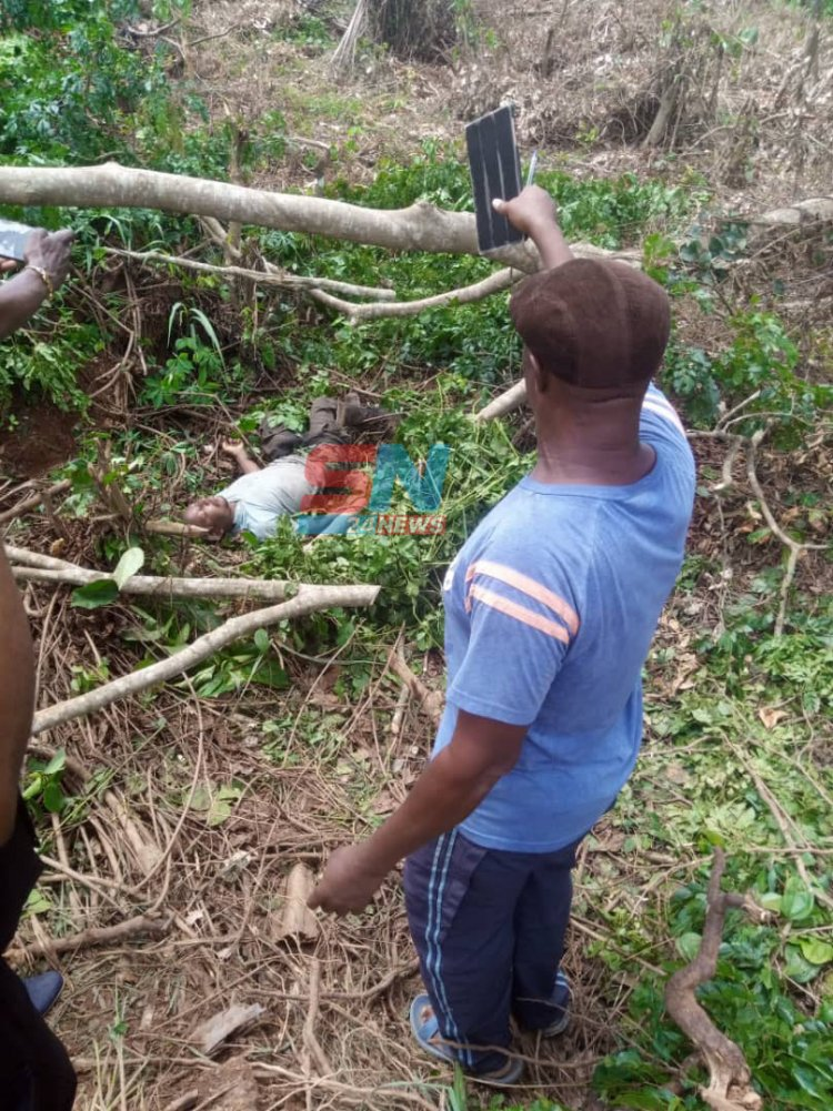Man electrocuted to death At Akrofuom [photos]