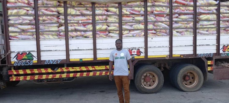 Yendi MP Secures 1,000 Bags of Rice to Muslims Community for Eid-ul-Fitr Celebration