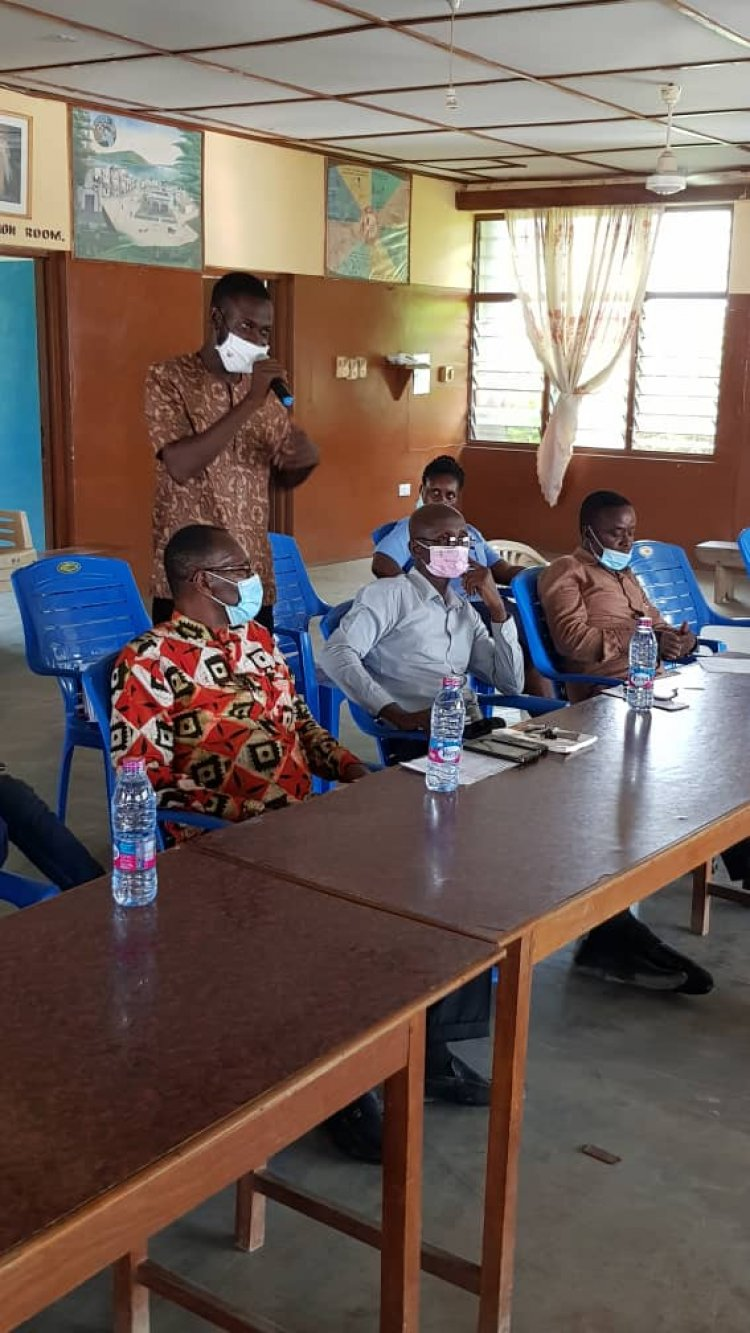 Pru East NHIS Holds Annual Review Meeting