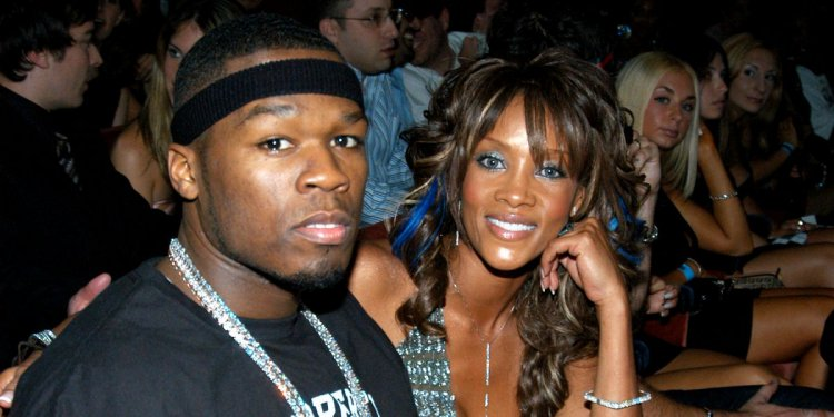"""50 Cent Is """"The Love of My Life"""" - Vivica A Fox"""