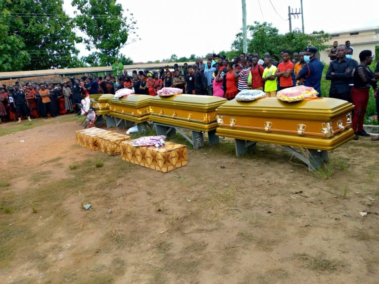Amanfrom electrocution Victims, 7 Laid to rest