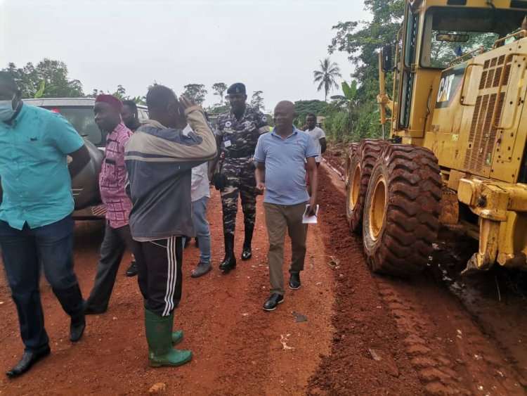 Regional Minister impressed with road quality in Ahafo Region
