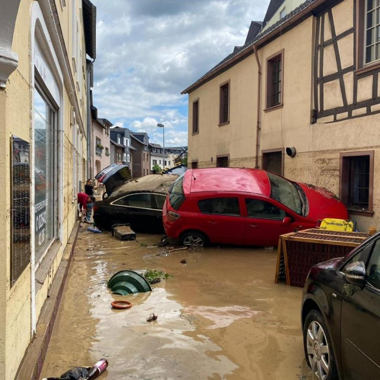 Death Toll At 126 As Europe Floods Continue