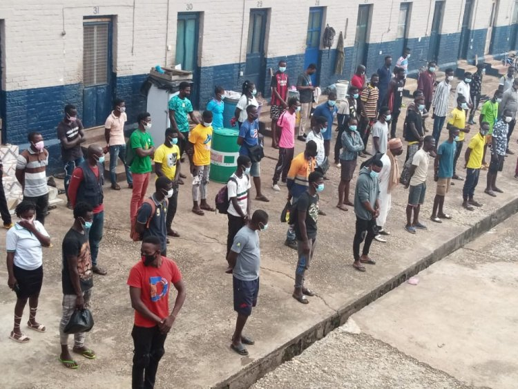 64 persons punished in Obuasi for not adhering to COVID-19 safety protocols