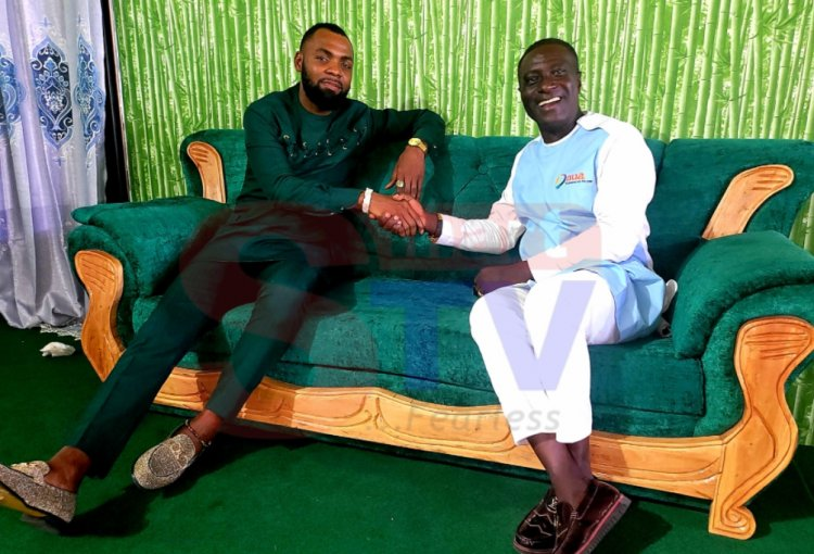 Ghanaians identify Captain Smart as 'Stomach Presenter' following visit to Obofour's home