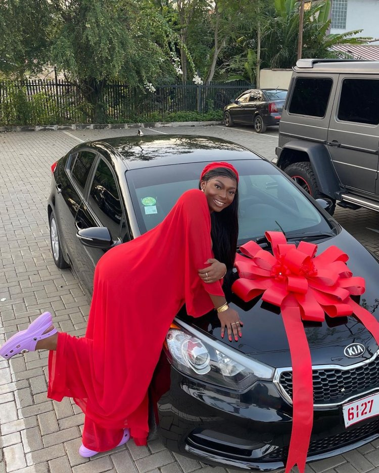 S3fa gifted new car by D Black