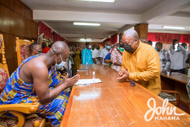 """Ahafo Region: NDC thanks Residents, party stakeholders for successful, """"thank You tour"""""""