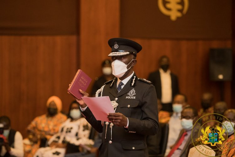 I'll ensure Police service is better than what I inherited – COP Dampare