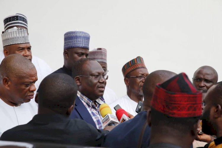 """Senator Lawan:  """"We Are Hungry, Thirsty To Receive 2020 Appropriation Bill"""""""