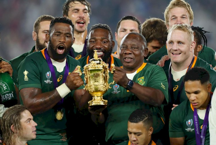 Springboks WIN their third World Cup