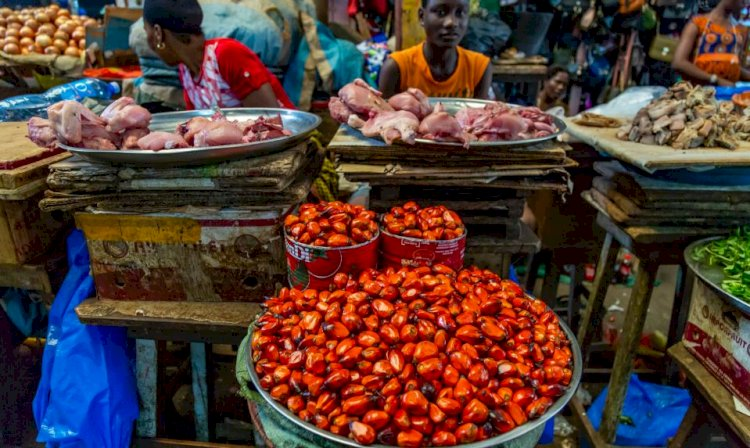 Food Inflation Rises To 14.09% In Nigeria