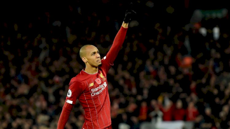 Fabinho will be out of action until 2020 due to ankle ligament