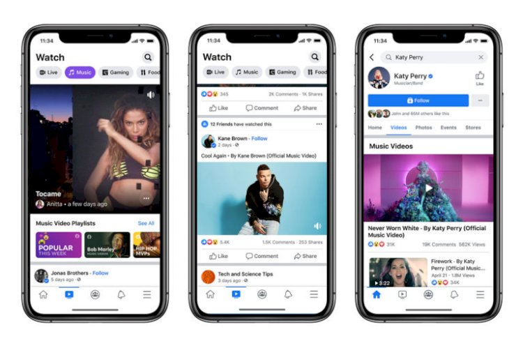 Music Videos Are Coming to Facebook