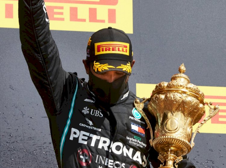 Lewis Hamilton recounts amazing finish to British GP victory