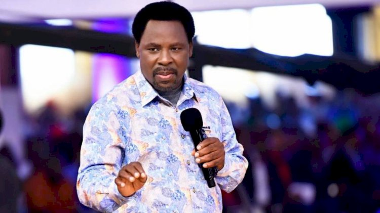 Coronavirus: Allow Me Heal Them All – T.B Joshua Tells Government