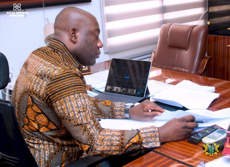 Oppong Nkrumah gives reasons why the NDC can never be trusted