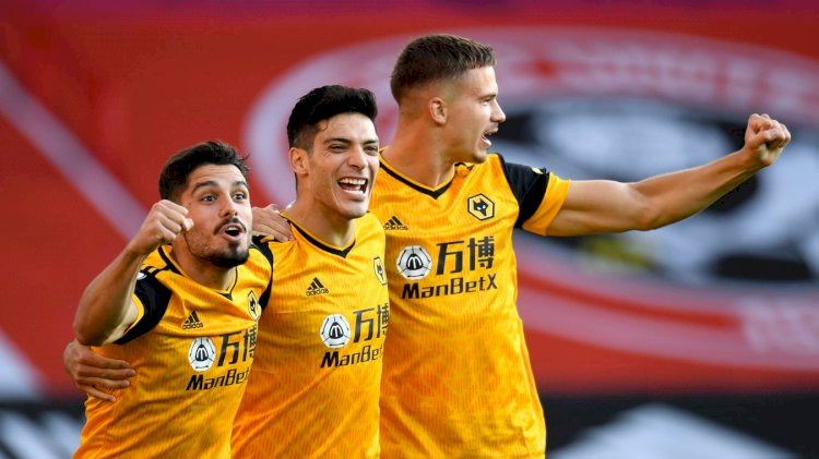 EPL MD 1: Two quick Wolves goals blunt Blades at home; Sheffield 0 - 2 Wolves